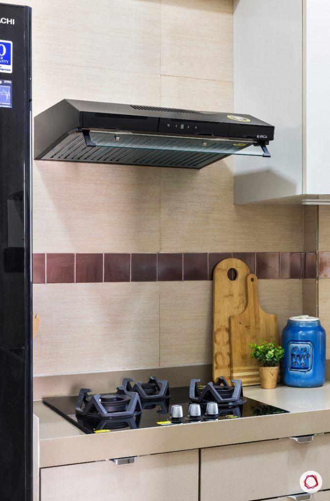 best interior designers in mumbai-kitchen-hob unit-chimney
