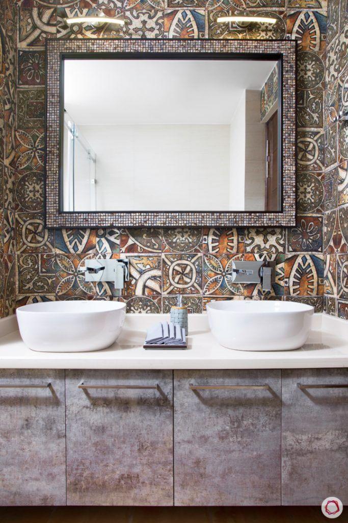 bathroom-wall-studded-mirror-cabinets-sink-two-basin