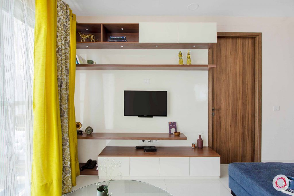 wall ledges-storage cabinets-laminate tv unit