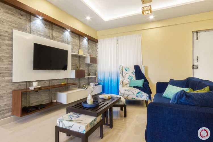 home bangalore-living room-seating area-tv unit-wooden centre table-laminate tv unit