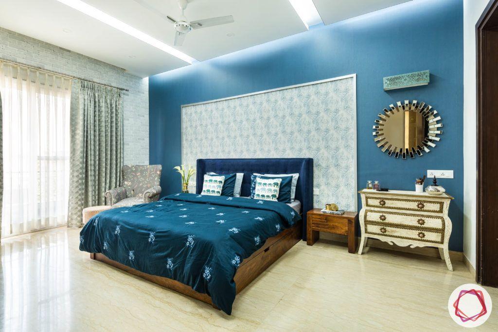 blue-wall-sheet-headboard
