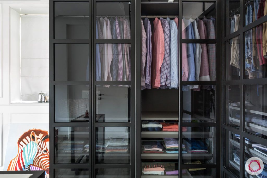 modern wardrobe-glass wardrobe design