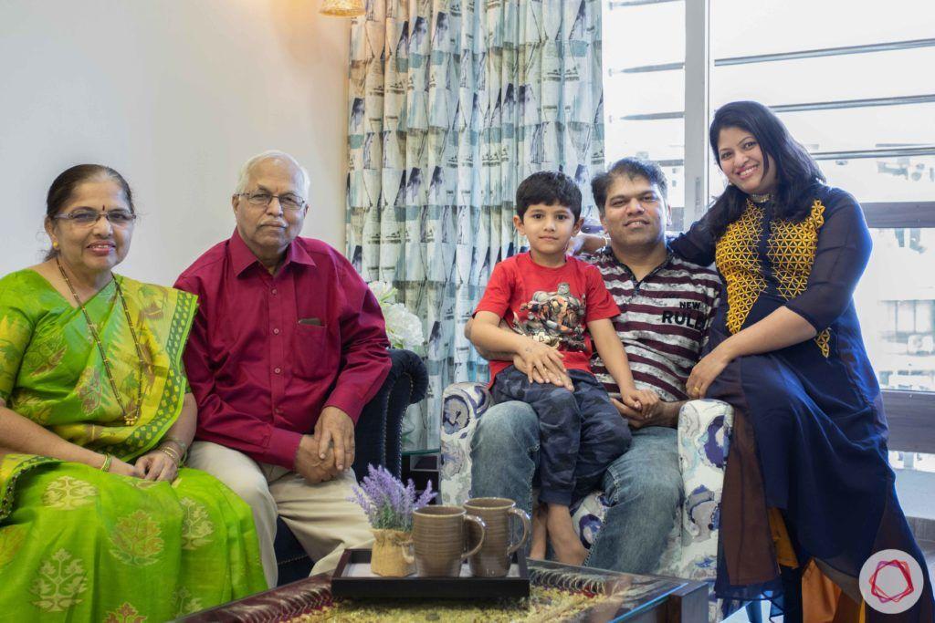 2 bhk flat interior-client-darshana tendulkar