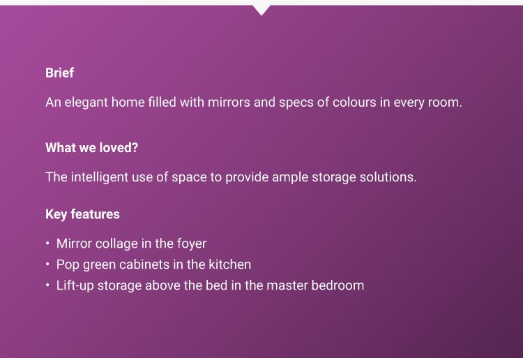 2 bhk flat interior-client brief-design details