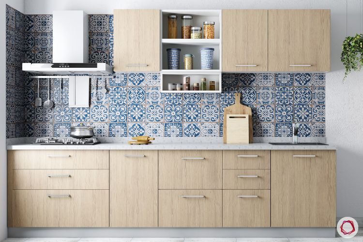 colour schemes for your kitchen-wooden kitchen designs-moroccan tiles for kitchen