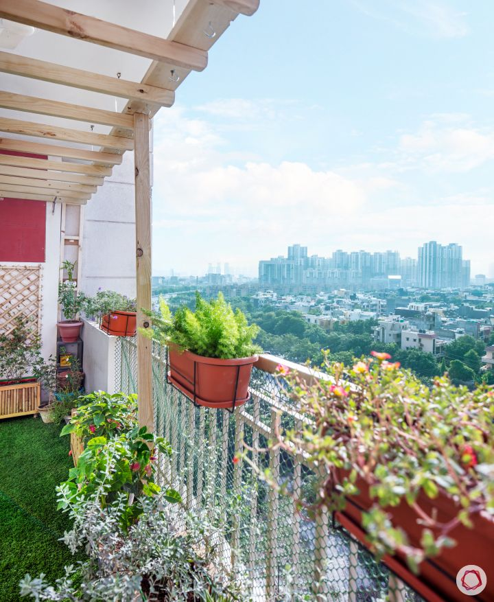 sunworld vanalika-balcony-railing planters