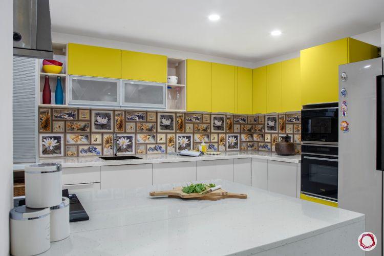 kitchen-countertops-quartz-white-yellow-fridge-backsplash-microwave