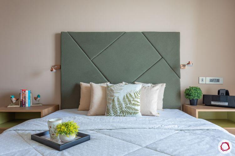 home mumbai-green headboard designs-reading lights for bedside