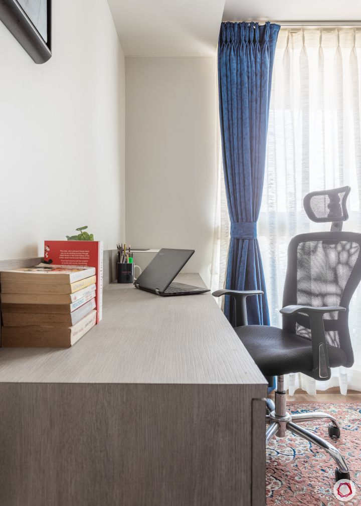 home mumbai-floating desk designs-sheer drapes designs