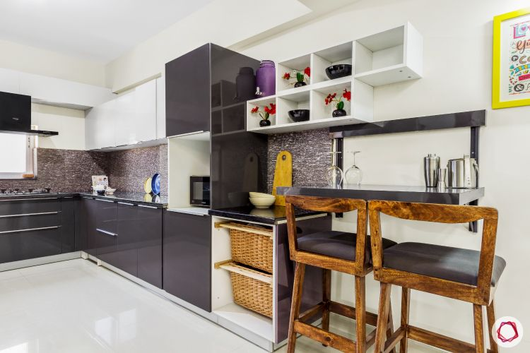 top-interior-designers-in-bangalore-kitchen-grey-white-laminate-breakfast-table