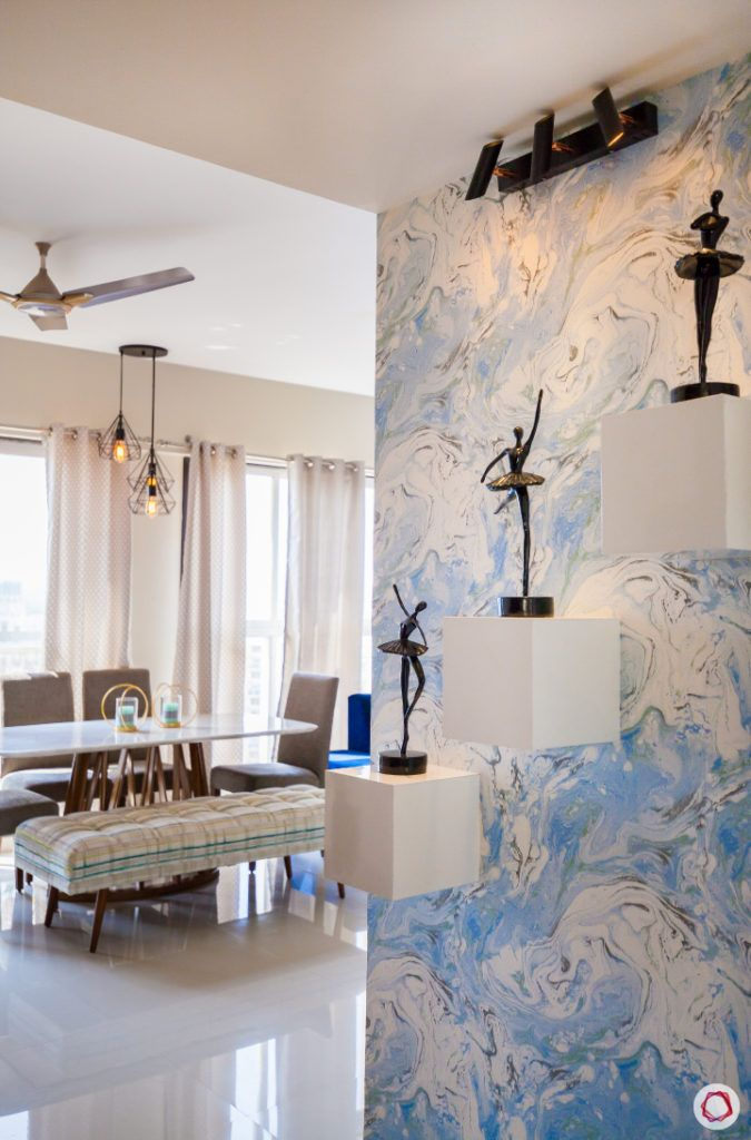 akshar elementa-foyer-entryway-printed wallpaper