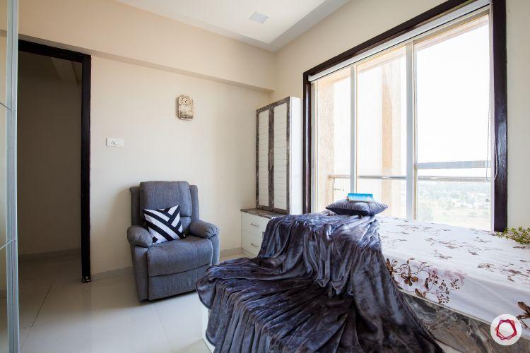 akshar elementa-reading corner-upholstered recliner-dresser unit