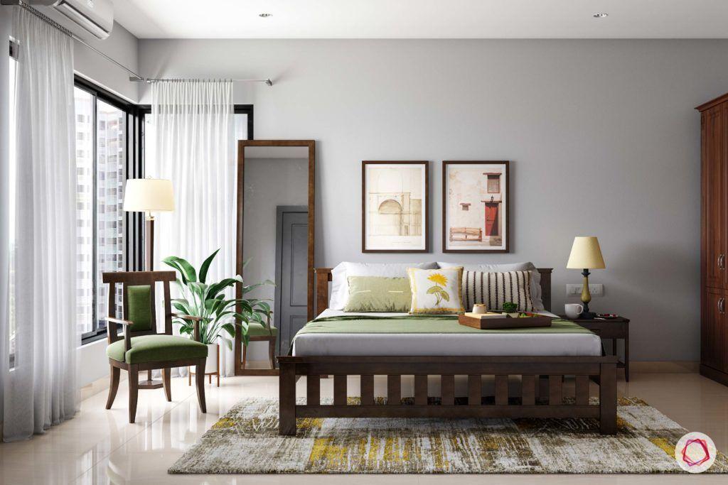 radhika apte_master bedroom_wooden furniture_full length mirror