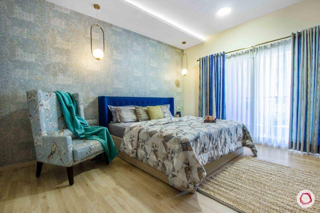 master-bedroom-blue-wallpaper-headboard