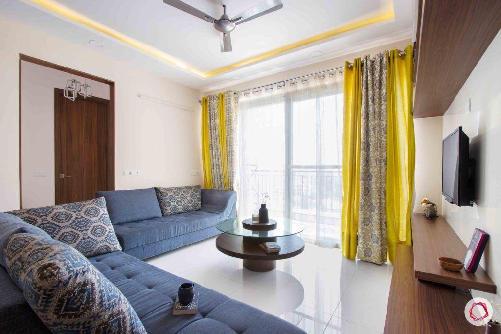 snn raj greenbay-living room-balcony-layered drapes