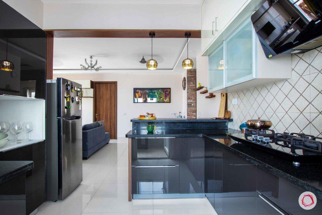 snn raj greenbay-modular kitchen-grey kitchen-full kitchen design