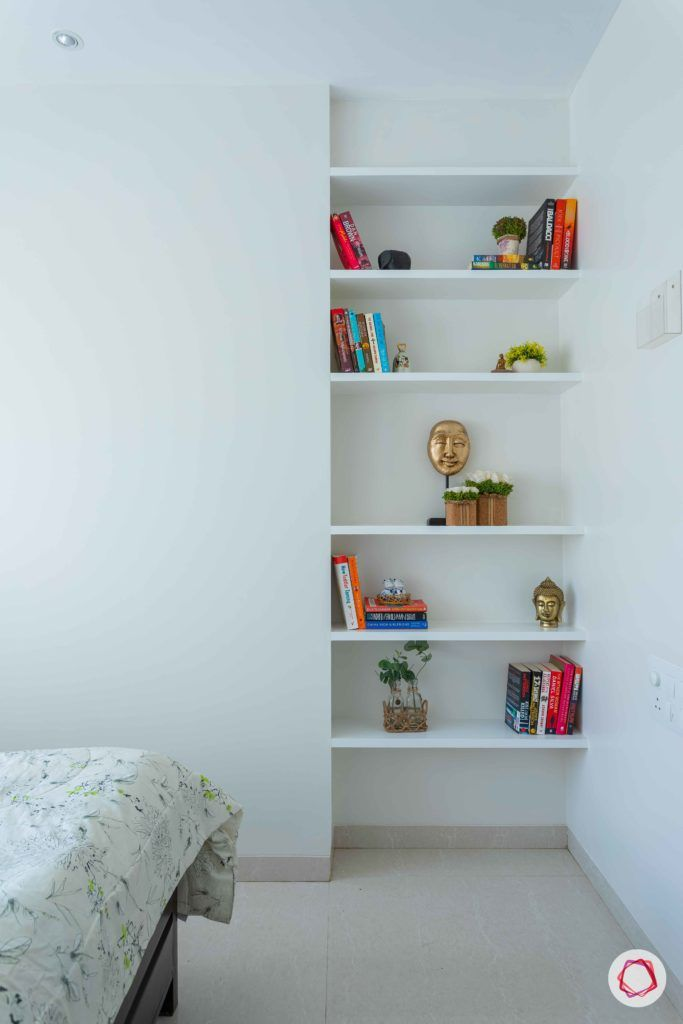 adani western-heights-white furniture designs-white shelf designs