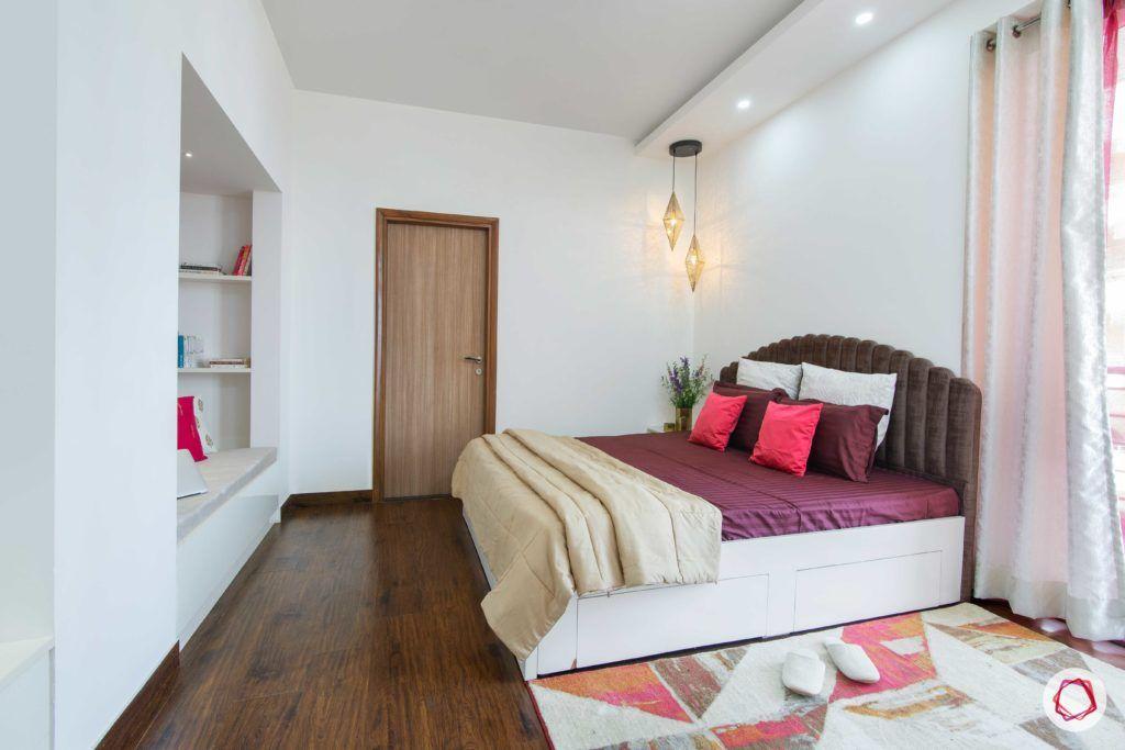 tdi ourania_master bedroom_pendant lights_wooden flooring