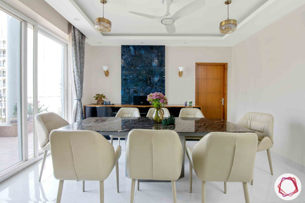 Shipra Srishti-dining-table-chairs-curtain