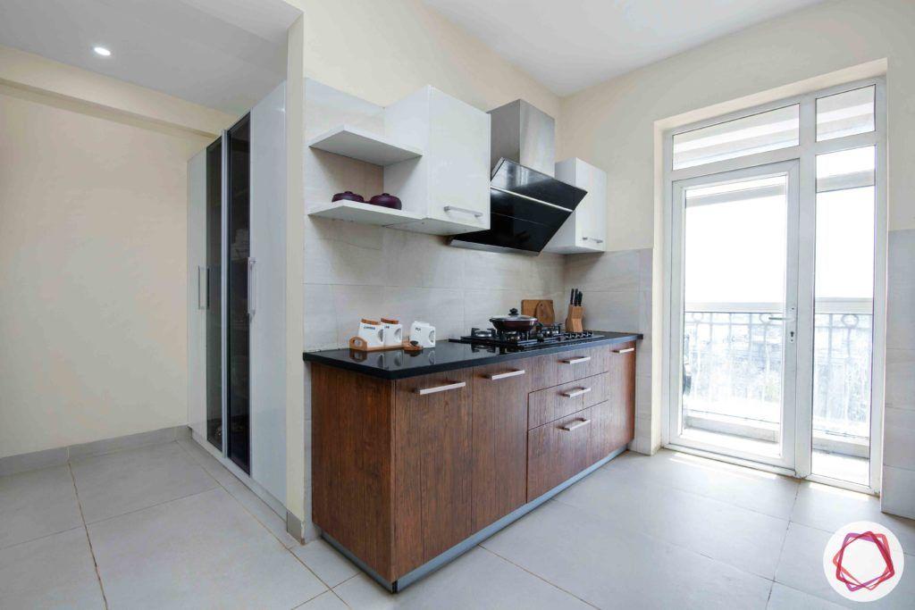 kitchen-white-brown-membrane-PU-cabinets