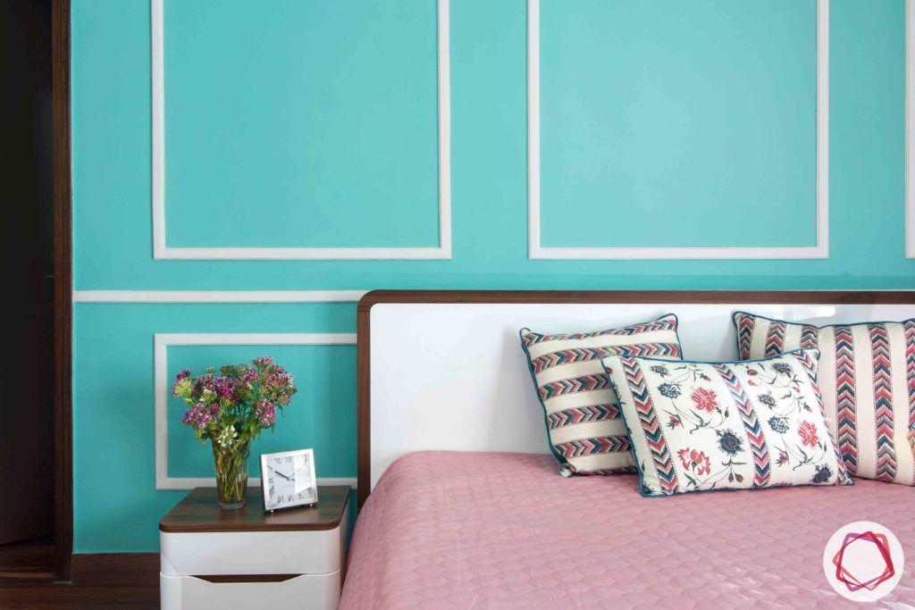 bedroom-girl-teal-trims-wall-jali-wooden-floor