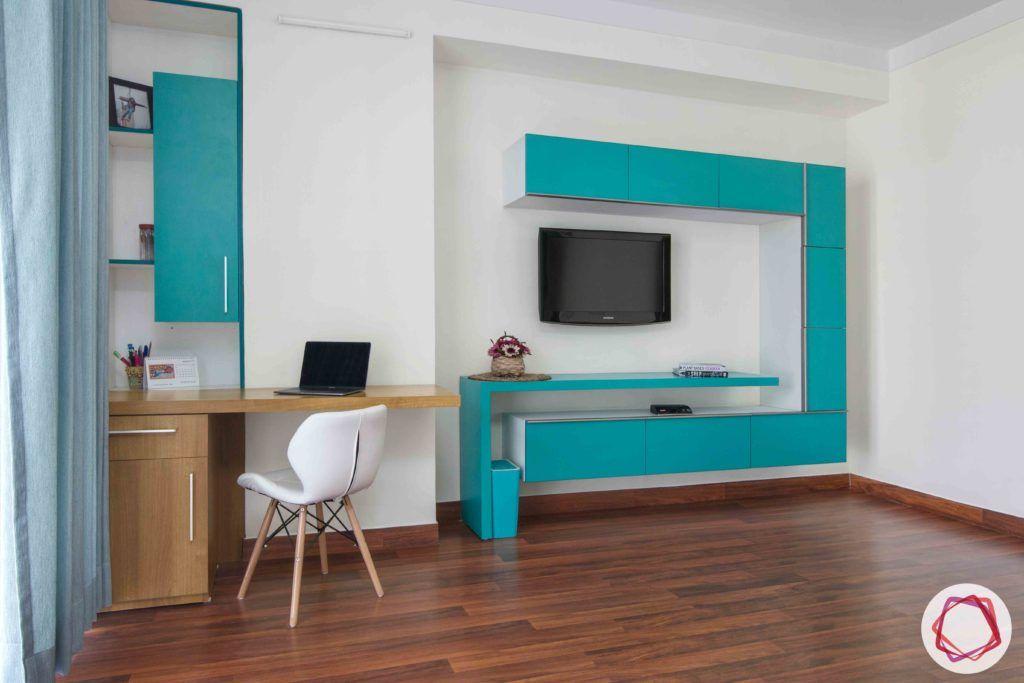 bedroom-girl-TV-unit-study-unit
