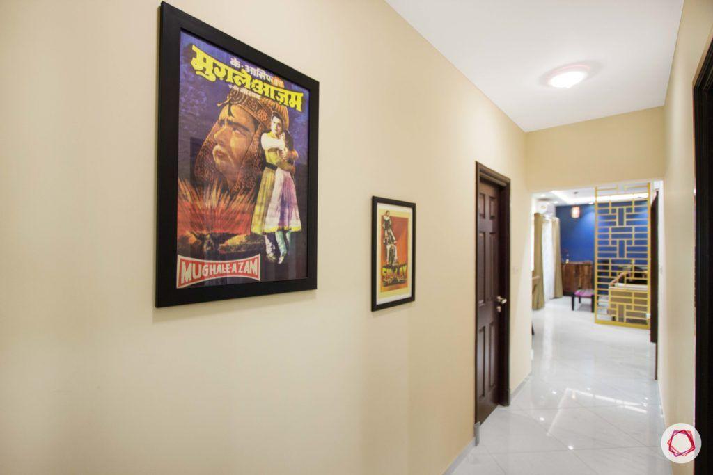 passage design ideas-gallery wall ideas-poster frame ideas