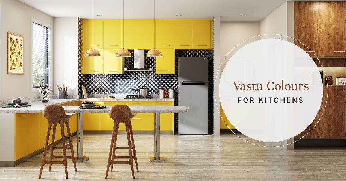 6 Vastu Approved Kitchen Colors
