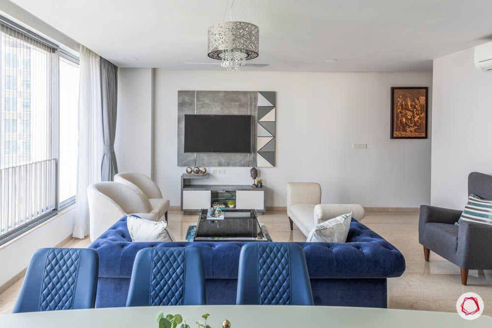oberoi goregaon-living room-white walls-grey tv unit-big windows