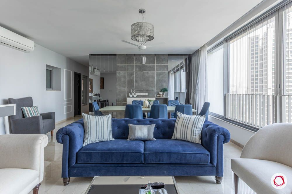 oberoi goregaon-living room-big room-huge windows-false ceiling