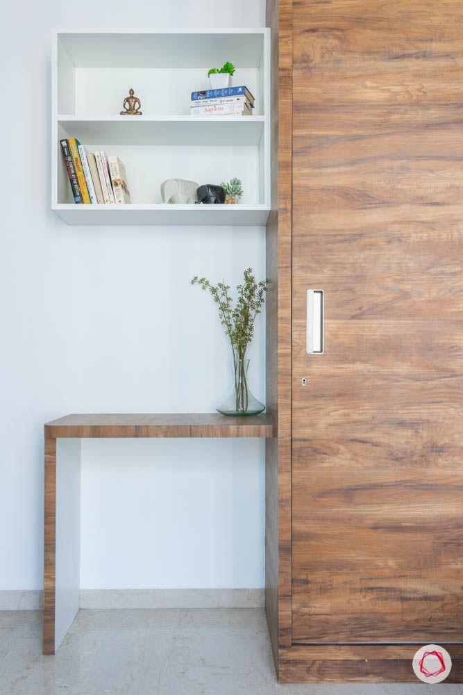 oberoi goregaon-master bedroom-study table-display shelf