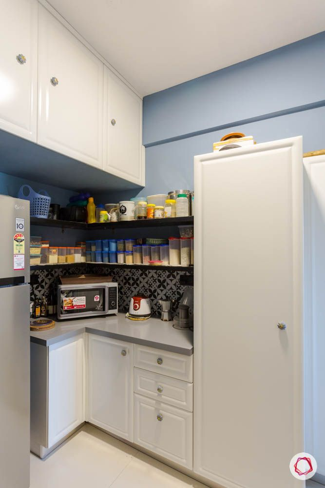 Kitchen-Storage-Cabinets-Closed-Cabinet-Organisation-Open-Shelves