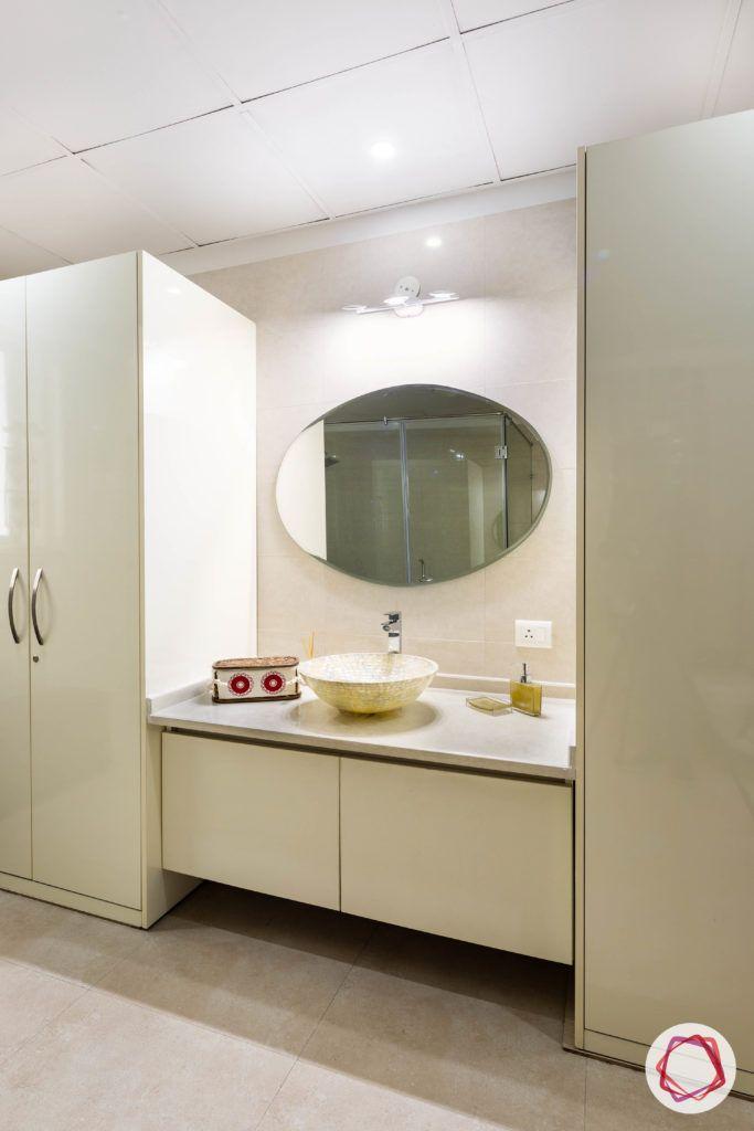 bathroom decor-storage-cabinets-under-vanity-mirror-white-sink
