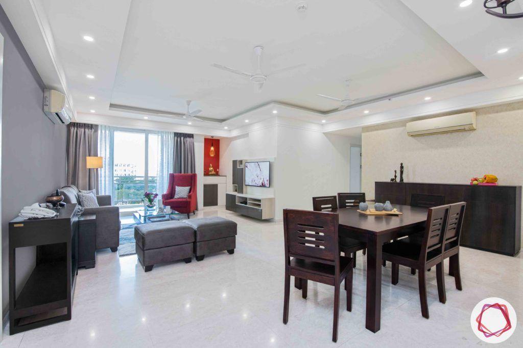 dlf gurgaon-grey sofa designs-grey ottoman designs