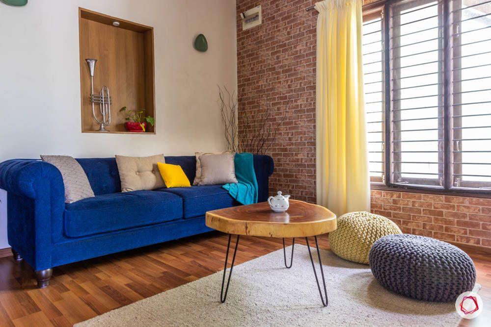 floor seating ideas-poufs-living room