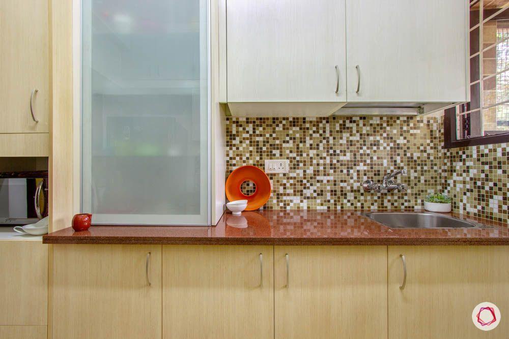Simple kitchen designs for Indian homes-roller-shutter-upper-cabinets-sink