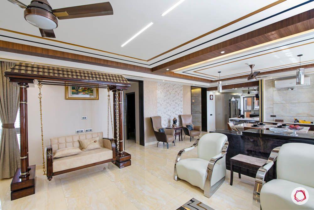 jaypee greens noida-white sofa designs-swing designs