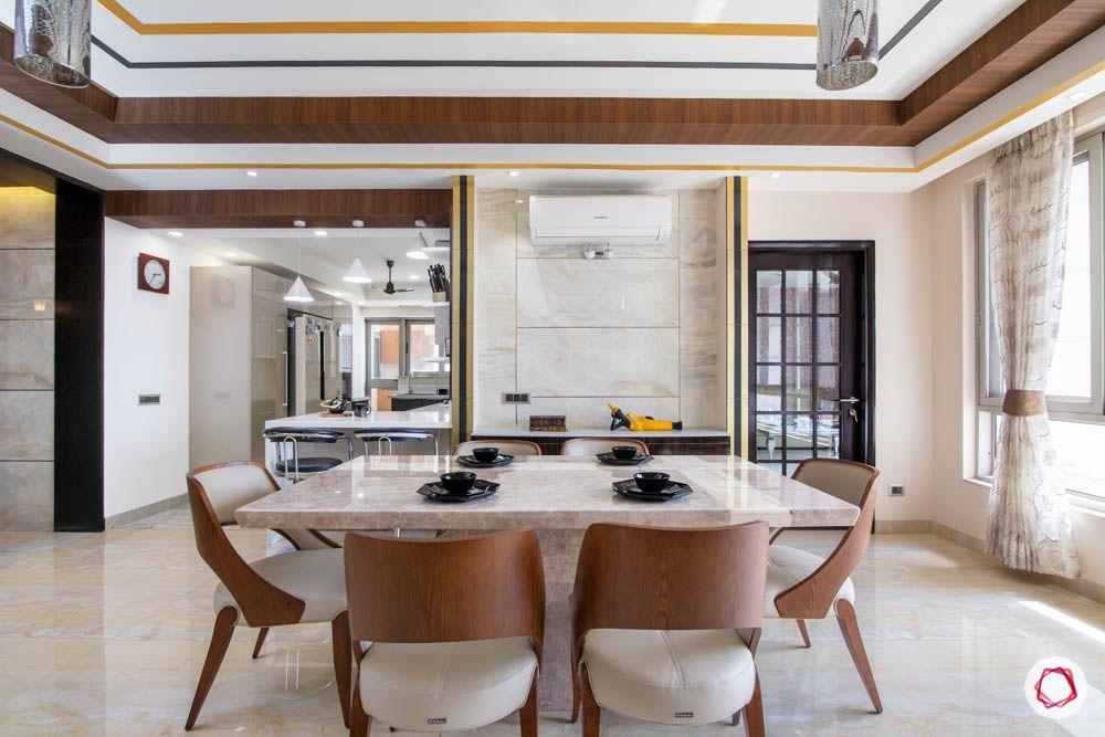 jaypee greens noida-marble dining set designs-sheer curtain designs