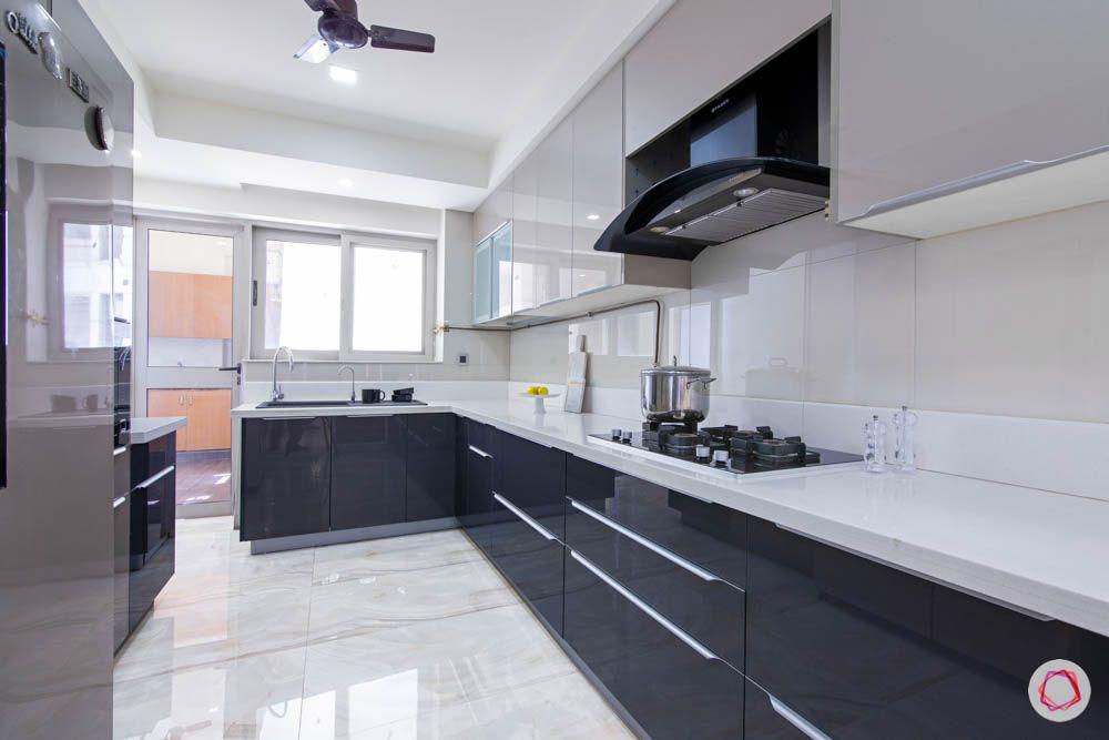 jaypee greens noida-quartz countertop designs-tall cabinet designs