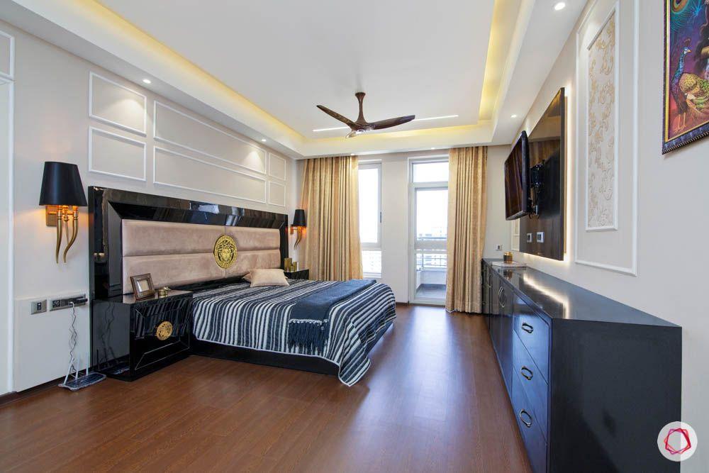 jaypee greens noida-wooden flooring designs-wall moulding designs