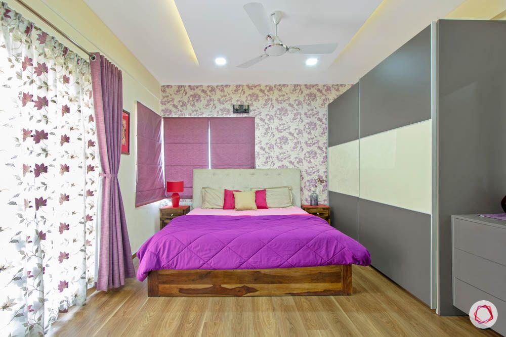 master-bedroom-purple-sliding-door-wardrobe-curtains-blinds-bed