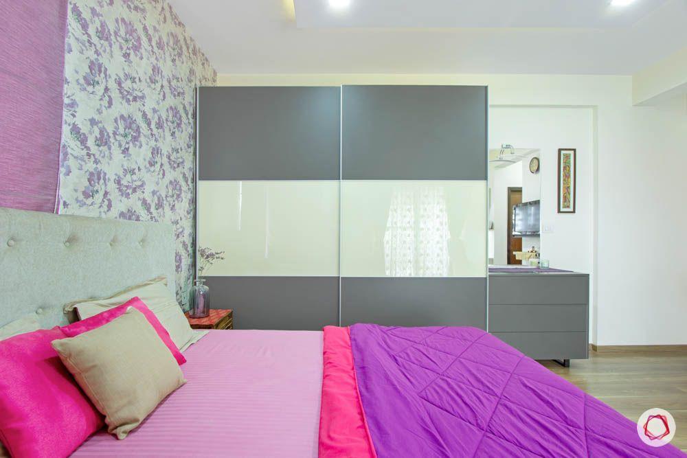 master-bedroom-purple-sliding-door-wardrobe-wallpaper-chest-of-drawers