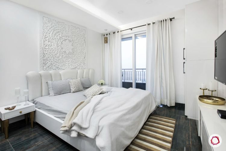 dream room-white wall ideas-white wall moulding ideas