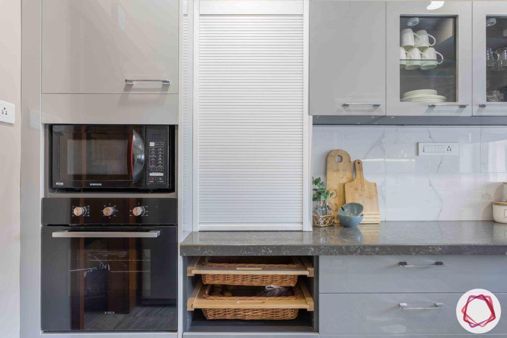 kitchen-cabinets-storage-drawers-wicker-baskets-roller-shutter