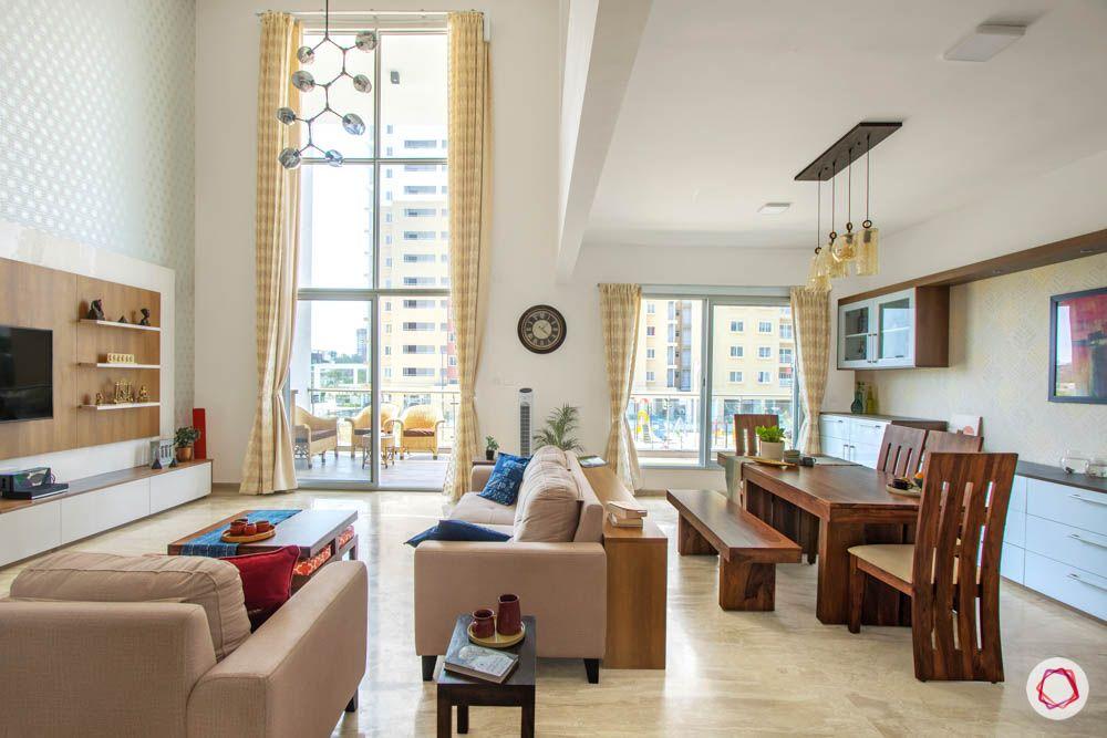 bench dining set designs-floor-to-ceiling window designs
