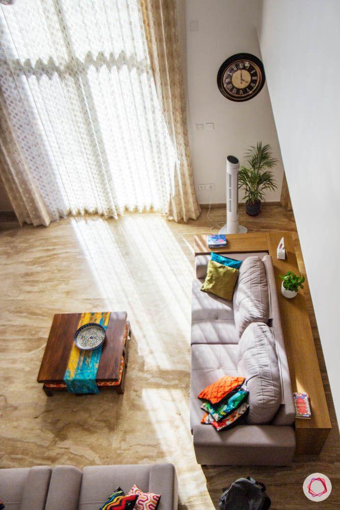 beige sofa designs-floor-to-ceiling window designs