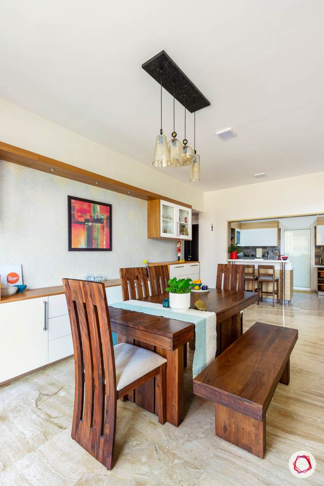 bench dining set designs-crockery cabinet designs