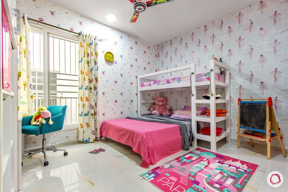 bunk bed designs-open shelves designs