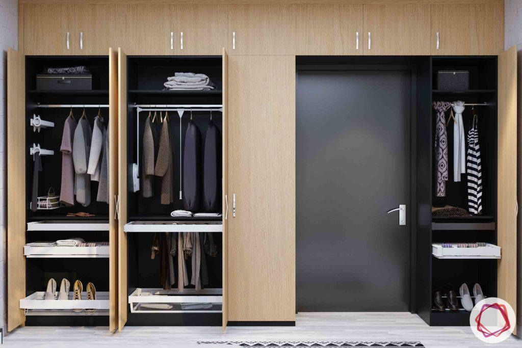 womens-wardrobe-hanging-space-clothes-wood-drawers