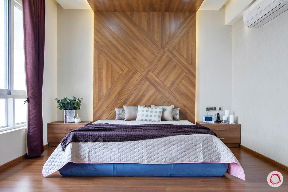 modern-house-plans-wall-to-ceiling-headboard-wooden-headboard